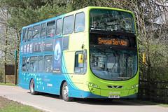 170074-KX13AVO-Volvo B5L-(7008)-Arriva. (day 192) Tags: detling kentshowground southeastbusfestival busraly transportrally transportshow bus buses volvo b5l volvob5l arriva kx13avo
