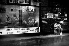 food for thoughts (Zlatko Vickovic) Tags: streetstreetphoto streetphotography streetphotographybw streetbw streetphotobw blackandwhite monochrome zlatkovickovic zlatkovickovicphotography novisad serbia vojvodina srbija