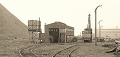 Bold (Lost-Albion) Tags: ncb bold sthelens merseyside lancashire hunslet 3163 3885 3694 mine colliery pentax 1977