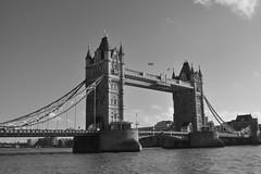 Tower Bridge, London (James Mans) Tags: nikon london england uk d5000 tower bridge thames towerbridge blackandwhite
