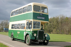 170077-HKE867-Bristol K6A-(DH159)-Maidstone & District. (day 192) Tags: detling kentshowground heritagetransportshow southeastbusfestival busrally transportrally transportshow bus buses classicbus preservedbus vintagebus bristol k6 bristolk6 maidstonedistrict hke867