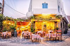 Parikia, Paros (Kevin R Thornton) Tags: d90 taverna nikon travel street parikia mediterranean greece paros egeo gr