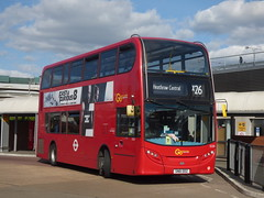 Go-Ahead To The Airport (londonbusexplorer) Tags: goahead london adl e40d enviro 400 e220 sn61dfz x26 heathrow central west croydon tfl buses
