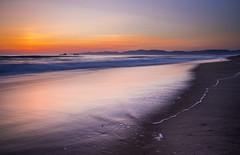 Manhattan Beach Sunset (walpert17) Tags: long exposure sunset ocean landscape oceanscape seascape sea color beach waves water motion sky mood
