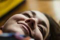 Giulia. (Giuseppe Chirico) Tags: colorsinourworld color coloura colours portraits portrait face smile facialexpression girl italiangirl italy smcpentax pentax 50mm canon