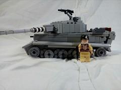 Tiger 1H (A.V.V.) Tags: lego moc ww2 battleforcaen tiger 1h