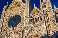 Cathedral (Siena, Italy) (peterwaller) Tags: cathedral church siena italy europe majestic ornate