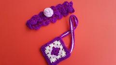 (Martina&Chloè_Blythe) Tags: crochet blythe muñeca manualidades interior lila