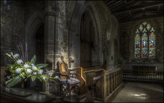 Badby Church Interior 3 (Darwinsgift) Tags: badby church northamptonshire interior hdr photomatix pce nikkor 24mm f35 nikon d810 st mary virgin tilt shift
