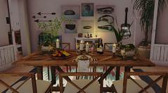 A sala de jantar da casa da praia... <3 (Shauna Lynagh) Tags: secondlife cozy diningroom decoration decoração
