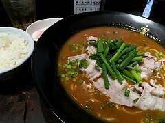 Curry Ramen from Minowa @ Roppongi (Fuyuhiko) Tags: かれー麺 実之和 六本木店 カレー ラーメン らーめん 箕輪 麺酒房 curry ramen from minowa roppongi カレーラーメン 東京 tokyo