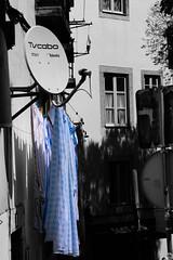 Lisboa-30 (Philippe Chaumel) Tags: desaturation rue linge