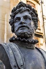 Luis de Camões (1524-1580) (jadc01) Tags: d3200 nikon nikon18140mm sculpture statue streetphotography urbanphotography portrait riodejaneiro depthoffield bokeh macro closeup publicsquare