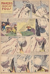 Hardi les Gars 45 / Seite 12 (micky the pixel) Tags: comics comic heft vintage héroïca hardilesgars cagliostro winter schnee snow lawine avalanche
