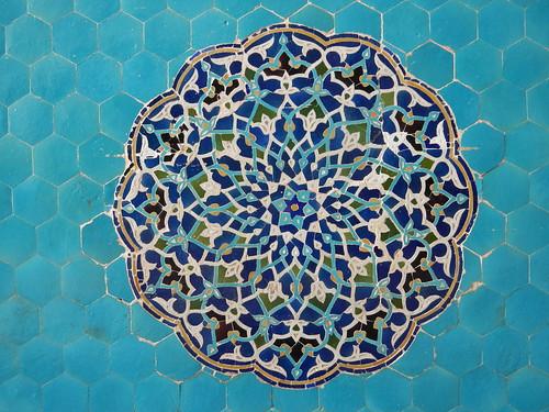 Rosace, Mosquée Jameh, Yazd