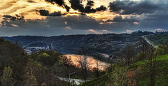 IMG_8362-64Ptzl1TBbLGER (ultravivid imaging) Tags: ultravividimaging ultra vivid imaging ultravivid colorful canon canon5dmk2 clouds stormclouds scenic vista river boat pennsylvania panoramic pa sunsetclouds sunset