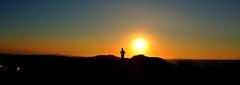 Liencres, Cantabria, Spain (Gonzalo Aja) Tags: liencres cantabria spain espeña runner corredor man hombre person persona broken coast costa quebrada sea mar cantabric cantabrico sunset atardecer sun sol sky cielo nature naturaleza d3000 outdoor silhouette silueta