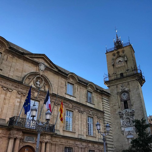City hall #aixenprovence #blue #sky