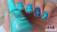 Bourjois - Tuquoise Block + Indigo For It (Raabh Aquino) Tags: unhas turquesa blurple bourjois hands