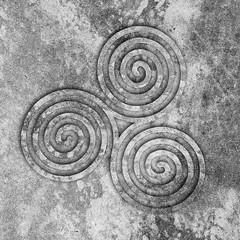 triskele (chrisinplymouth) Tags: art design trisquel triskelion triskele spiral cw69sq square cw69x cw69spiral emd pattern symbol texturesquared