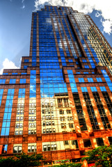 Manhattan Reflections (Tryppyhead) Tags: nyc 2017 spring architecture buildings usa skyscraper hdr nikond7200 photomatixpro4 paintshoppro