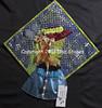 Mardi Gras Mask (Brampton Quilters' Guild Inc.) Tags: ontario canada quilt quilting brampton 6541 heatherhunter bramptonquiltersguild 2013quiltshow wallhangingcategory