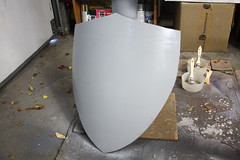 Shield WIP14 (Tsabo Tsaboc) Tags: knights impact cedric shield sir props hillsdale sculpting