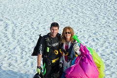 Skydiving Apr 2013, GQ and Carolyne enjoy the beach in Gulf Shores (divemasterking2000) Tags: sky beach skydiving coast la flying al jump jumping gulf alabama dive diving center beaches april skydive lower canopy shores dropzone emerald parachuting gulfshores apr parachute dz canopies skyjump gulfcoast elberta parachutes skyflying pinkpony skyfly emeraldcoast loweralabama 2013 skyjumping beachjump pinkponypub emeraldcoastskydivingcenter beachskydive