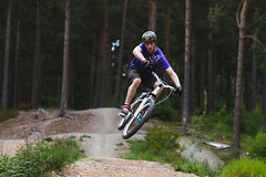 Biking (craigmadethis) Tags: home sport cycling jump action dirt biking p1 specialized forres