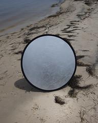 (Levi Mandel (sea kay)) Tags: light summer abstract beach canon circle mirror newjersey shoot magic shore production shape reflector