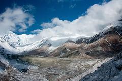 Annapurna Great Barrier (Wojciech Zwierzynski) Tags: nepal camp mountain lake snow ice trekking stupa circuit pokhara base annapurna nepali manang muktinath tilicho dhaulagiri