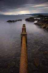 Sh1t pipe (Roksoff) Tags: skye scotland highlands nikon long exposure pipe scottish western 24mm loch isles rhum arisaig mallaig eigg lochan d600