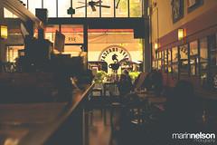 Cafe Frascati (Marin Nelson) Tags: california coffee sanjose coffeeshop caffee warmcolors darklocation caffeefrascati