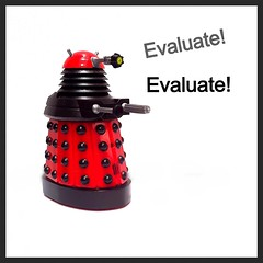 Evaluate (retrokatz) Tags: dalek credibility evaluation reliable evaluate informationliteracy uploaded:by=flickrmobile flickriosapp:filter=nofilter