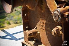Rusty (MjZ Photography) Tags: ocean beach metal hawaii rust honeymoon waikiki oahu machinery diamondhead motor honolulu winch diamondheadcrater diamondheadstatemonument