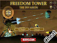 自由之塔:入侵者:修改版(Freedom Tower : The Invasion Cheat)