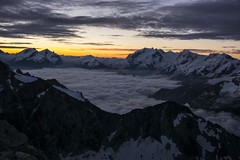Morning glory (sylweczka) Tags: snow mountains alps switzerland climb tour glacier dentblanche hochtour ferpecle sylweczka