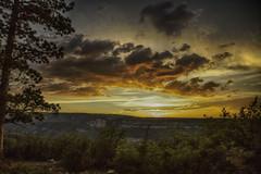 Transfer Road Sunset (HLazyJ - Susan Humphrey) Tags: sunset clouds canon colorado coloradolandscape canonllens coloradoroads canon5dmarkii susanhumphrey westernslopeofcolorado