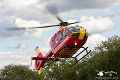 G-HWAA (Paul Beale Photography) Tags: life uk day open aircraft aviation air flight police ambulance helicopter bond emergency services rotary eurocopter midlands ec135 strensham ghwaa