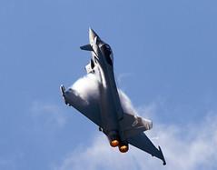 Typhoon (Bernie Condon) Tags: plane sussex flying fighter display aircraft aviation military jet planes eurofighter rafa typhoon raf shoreham 2013