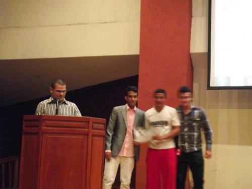 Reconocimiento en La Universidad Fermin Toro En Barquisimeto Parkour PAD