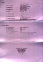 1998 Convegno sul lighting designer Accademia delle Belle Arti di Brera