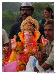 Ganesh Chaturthi 2013 - Ganapati Visarjan Last Day (Anant Chaturthi) (Raman_Rambo) Tags: india beautiful festival creek lights god indian decoration celebration holy ganesh pooja maharashtra mumbai festivities puja gauri chaturthi ganapati visarjan diety anant khadi dombivli poojan 2013 gajanan chaturdashi ganaraya ramansharma vignaharta anantchaturthi