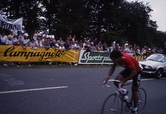 1982 World Cycling Champ008 (Tim Callaghan) Tags: cycling jones 1982 bikes flags kelly 35mmslides roads crowds goodwood lemond saroni worldroadracechampionships