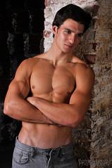Ronny 202 (Violentz) Tags: shirtless portrait man male guy model body muscle torso fitness physique physiquemodel patricklentzphotography wwwpatricklentzcom ronnywalsh