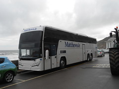 Volvo B11RT Plaxton Elite i Interdeck (miledorcha) Tags: county ireland volvo coach holidays yorkshire north engineering exhibition elite scarborough tours spa touring coaches matthews monaghan psv pcv plaxton inniskeen triaxle plaxtons elitei hideck b11r interdeck b11rt matthewsie