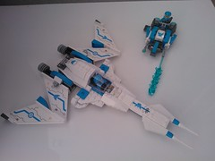 Galaxy Squad advanced blue team (okoe74) Tags: lego galaxy squad swarm interceptor