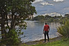 A moment of tranquility (Lynne Karen) Tags: newzealand lake nature cloudy northshore northisland lovely tranquil lakepupuke