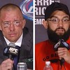 Judging from this picture, who won the #UFC #WelterWeight Championship last night at #ufc167? #hendricks #GSP #Rush #JohnyHendricks #GeorgesStPierre