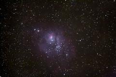 Nebulosa Laguna M8 (70seg. exposicion 1600 iso) (aficionadoastronomia) Tags: Astrometrydotnet:status=solved Astrometrydotnet:id=nova146799